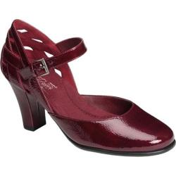 Women's Aerosoles Much Ado Wine Patent Leather
