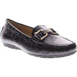 Women's Azura Syrinx Black Crocodile Leather