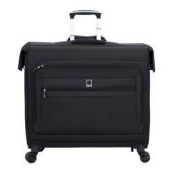 Delsey Helium Hyperlite Black Trolley Spinner Garment Bag