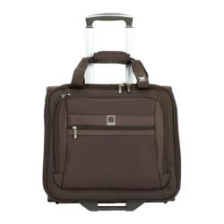 Delsey Helium Hyperlite Mocha Rolling Carry On Tote Bag