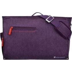 Women's Sherpani Presta Large Commuter Messenger Plum