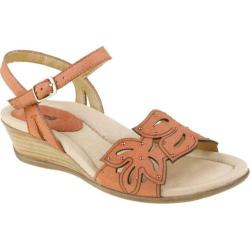 Women's Earth Orchid Coral Nubuck Leather