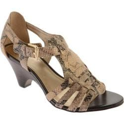 Women's Circa Joan & David Nizzie Gold Viper Glam Reptile