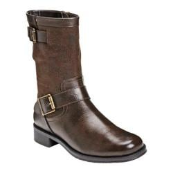 Women's A2 by Aerosoles Slow Ride Brown/Green Combo Synthetic