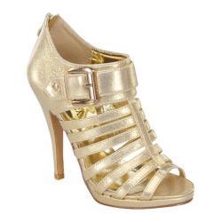 Women's Wild Diva Lexie-51 Gold Metallic