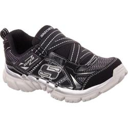 Boys' Skechers Tough Trax Quads Black/Silver