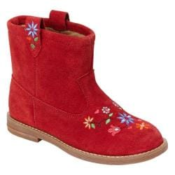 Girls' Hanna Andersson Elsa Apple Red Suede