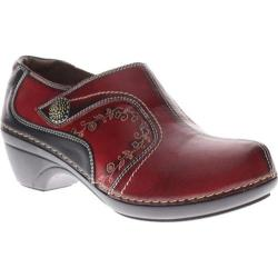Women's L'Artiste by Spring Step Janella Red Leather