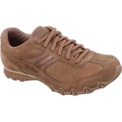 Women's Skechers Relaxed Fit Bikers Systematic Desert Brown