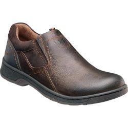 Men's Nunn Bush Brule Brown Tumbled Leather