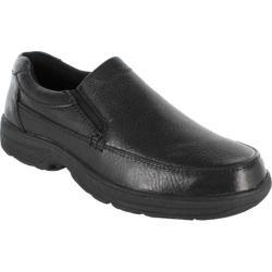 Men's Nunn Bush Kenton Black Tumbled Leather