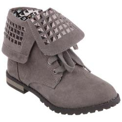 Girls' Skechers Cliffhanger Rock N Rivets Gray