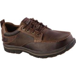 Men's Skechers Relaxed Fit Segment Davin Brown/Brown
