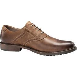Men's Dockers Quinn Black/Dark Brown Full Grain Leather