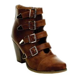 Women's Wild Diva Raspy-01 Whisky Faux Leather