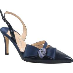 Women's J. Renee Ditz Navy Faux Patent