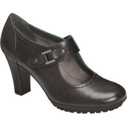 Women's Aerosoles Momento Black Leather
