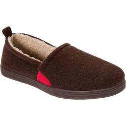 Men's Dearfoams Boiled Wool Closed-Back Coffee