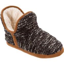 Women's Dearfoams Bouclé Knit Boot Black