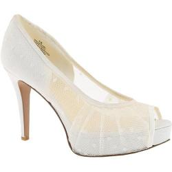 Women's Nine West Carousel2 White/White Fabric