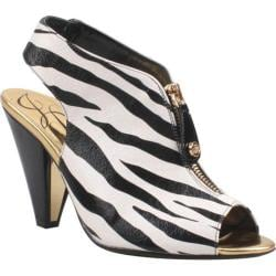 Women's J. Renee Viento Black/White Synthetic