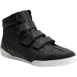 Men's Fila Hi Class Mid Triple Strap 1VF091LS Black/White/Gold