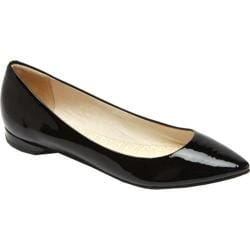Women's Rockport Ashika Scooped Ballet Black Patent