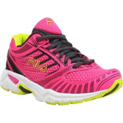 Children's Fila Reckoning 5 Neon Pink/Dark Shadow/Neon Green