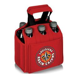 Picnic Time Six Pack Louisiana Ragin' Cajuns Red
