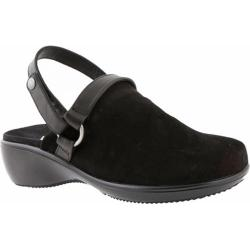 Women's Vionic with Orthaheel Technology Adelaide Backstrap Clog Black