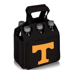 Picnic Time Six Pack Tennessee Volunteers Black
