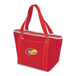 Picnic Time Topanga Kansas Jayhawks Embroidered Red