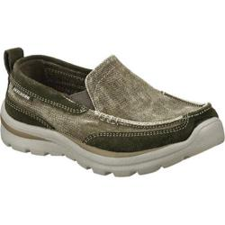 Boys' Skechers Relaxed Fit Superior Melvin Gray