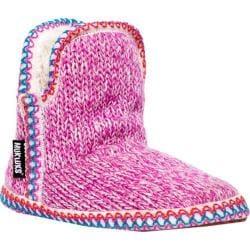 Women's MUK LUKS Amira Candy Coated Slipper Bubble Gum Pink
