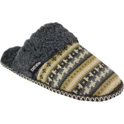 Women's MUK LUKS Fairisle Knit Scuff Brown