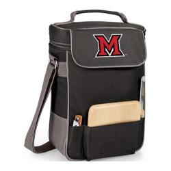 Picnic Time Duet Miami University Red Hawks Embroidered Black/Grey