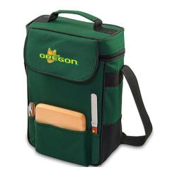 Picnic Time Duet Oregon Ducks Embroidered Hunter Green