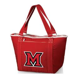 Picnic Time Topanga Miami University Red Hawks Embroidered Red