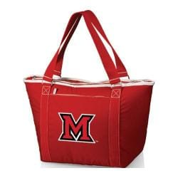 Picnic Time Topanga Miami University Red Hawks Print Red