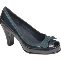 Women's Aerosoles Benefit Navy Multi Patent Leather
