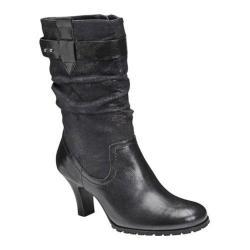 Women's A2 by Aerosoles Sleep Tight Black Faux Leather
