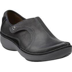 Women's Clarks Wave.Route Black Leather