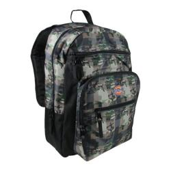 Dickies Double Deluxe Backpack Fat Plaid Camo