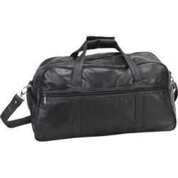 Goodhope P6205 Leather Duffel Black