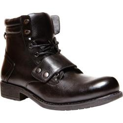 Men's Madden Puckk Black Leather