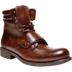 Men's Madden Puckk Brown Leather