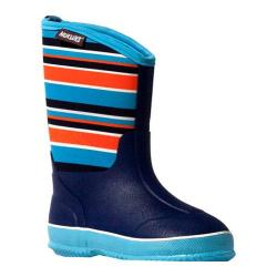 Boys' MUK LUKS Little Splashers Rain Boot Blue