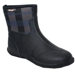 MUK LUKS Men's Pete Rain Boot Black