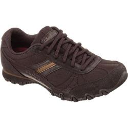 Women's Skechers Relaxed Fit Bikers Abroad Chocolate
