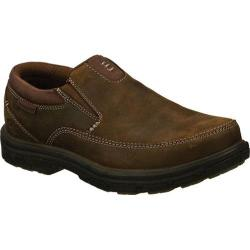 Men's Skechers Relaxed Fit Segment The Search Dark Brown